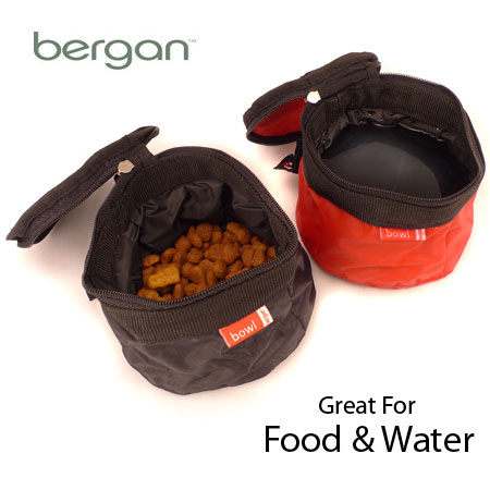 2 Pack Pet Travel Bowls